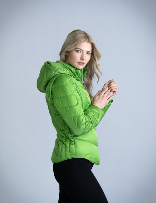 Marble 5949 - Puffer Jacket -Green