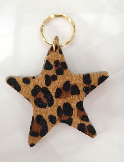 Abi Williams -Leopard Star Keyring
